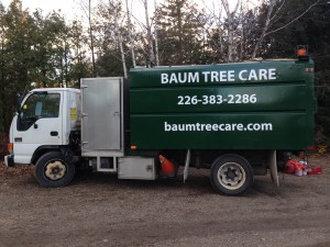 Baum Tree Care truck