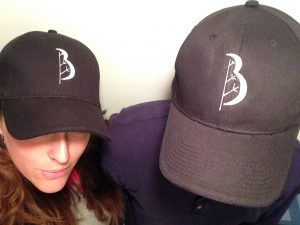 Phil and Serena Guenter in Baum Tree Care hats