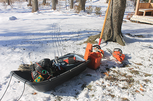 utility sled helps